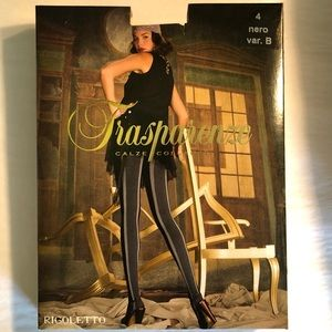 Trasparenze Accessories - Transparenze Pantyhose made in Italy Black Gray